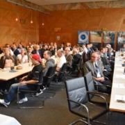 Auditorium der Festveranstaltung zum 5jährigen Bestehen der Initiative Wasserschutzbrot