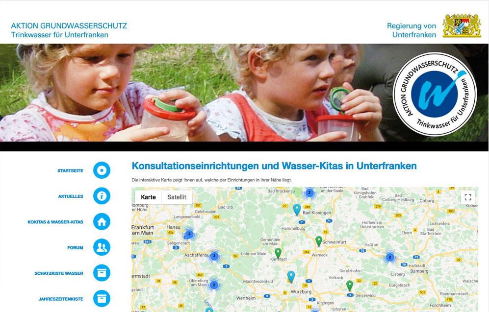 Homepage Wasser-Kita