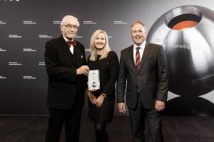 Delegation aus Unterfranken bei der Überreichung des Deutschen Nachhaltigkeitspreises