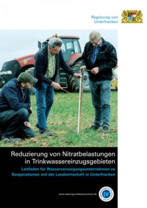 Titelseite des Leitfadens zur Nitratsanierung