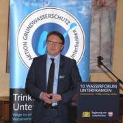 Markus Rauh, Vertreter des Verbandes der Bayerischen Energie- und Wasserwirtschaft e.V. und Verbandsdirektor der Fernwasserversorgung Oberfranken