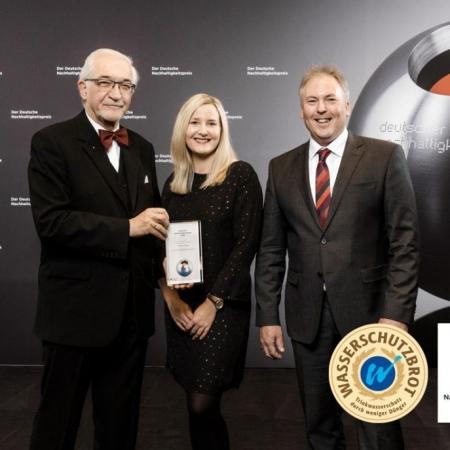 Preisverleihung des Deutschen Nachhaltigkeitspreises Top 3 im Bereich Forschung