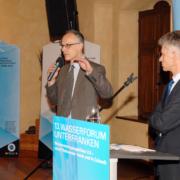Manfred Forst, BGS Umwelt bei der Beantwortung von Fragen