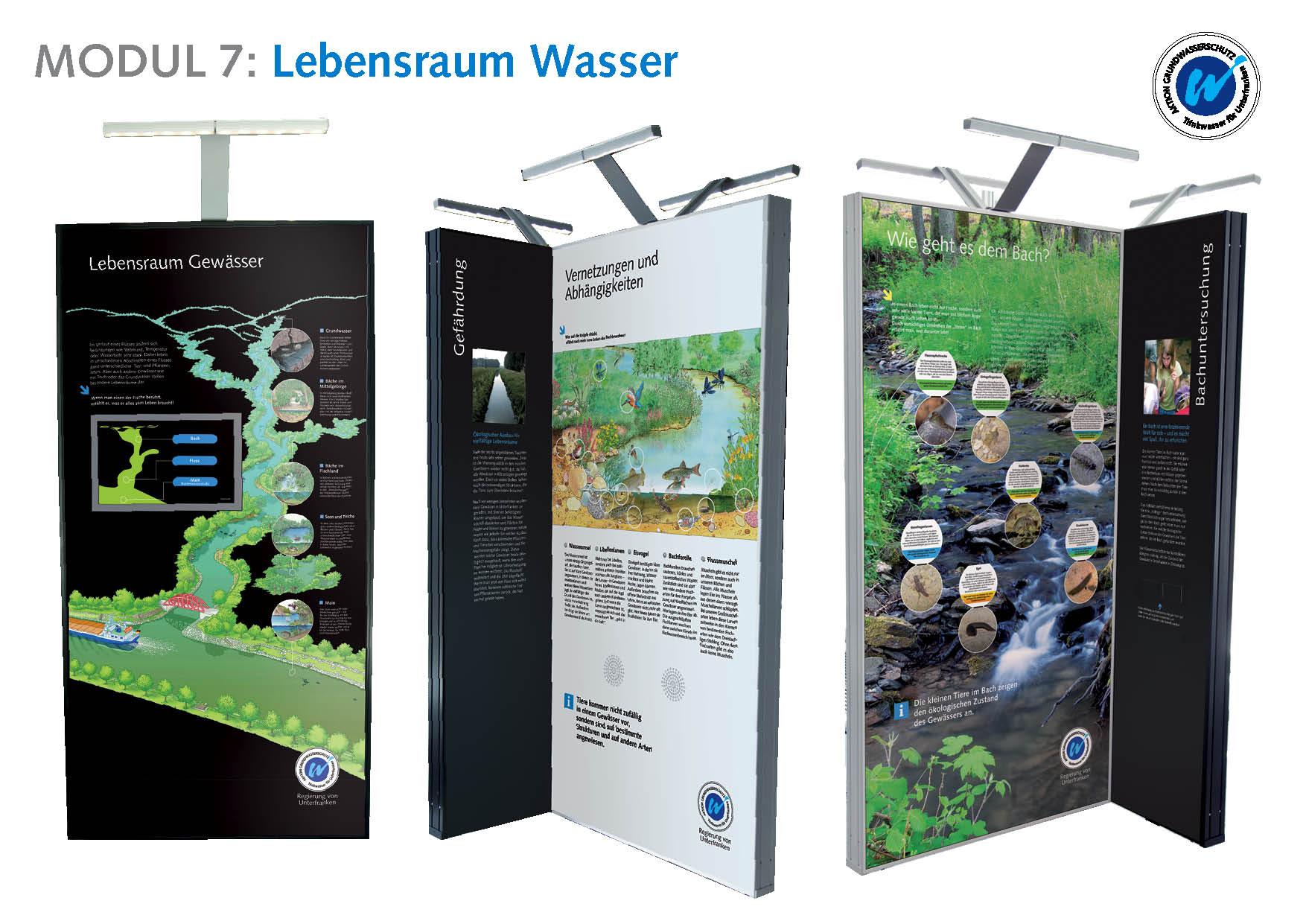 Modul 7 der interaktiven Wanderausstellung