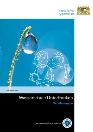 Schülermappe der Wasserschule Unterfranken