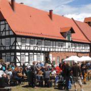 Innenhof der Domäne Frankenhausen bei Kassel