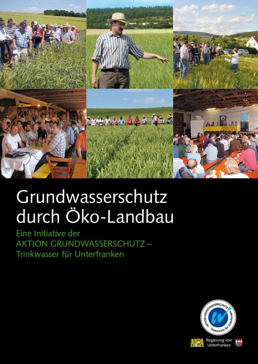 """Faltblatt """"Grundwasserschutz durch Öko-Landbau"""""""