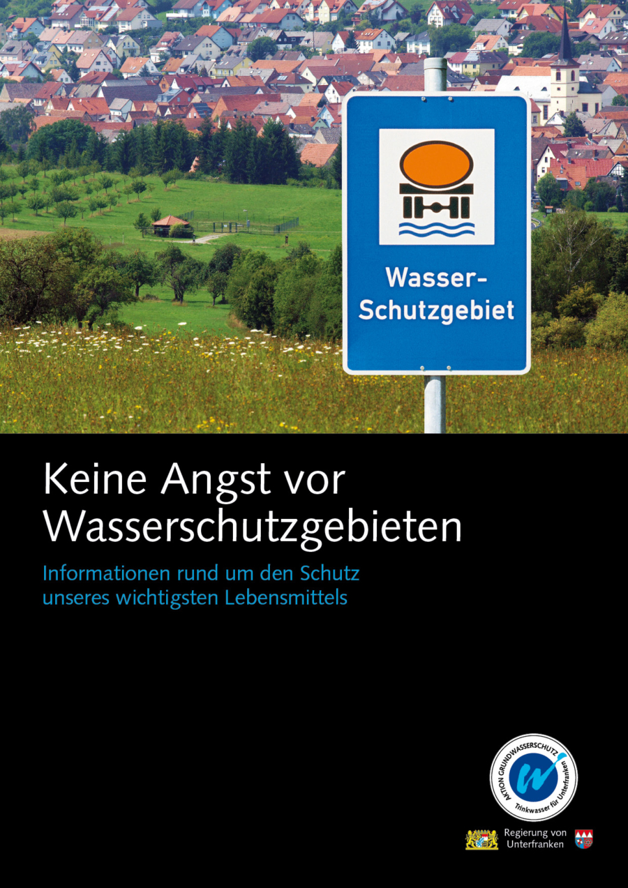 """Broschüre """"Keine Angst vor Wasserschutzgebieten"""""""
